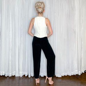 Jones New York Pants - Black White Formal Jumper